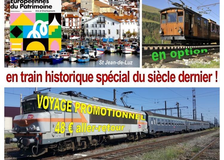 Voyage De Toulouse à Saint-jean-de-luz En Train Historique