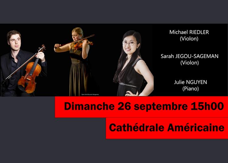 Voyage musical en Terres Slaves : 2 violons et Piano à Paris 8ème