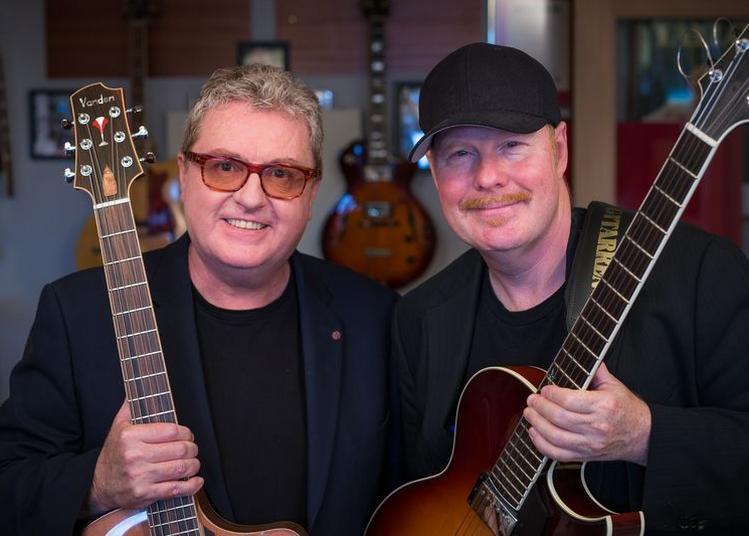 Ulf Wakenius et Martin Taylor à Pouzauges