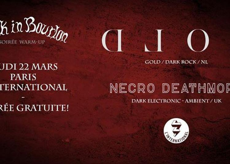 Warm Up Paris: Gold + Necro Deathmort à Paris 11ème