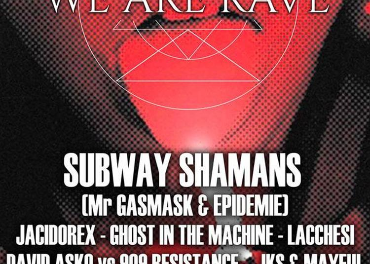 We Are Rave - Warehouse à Nantes