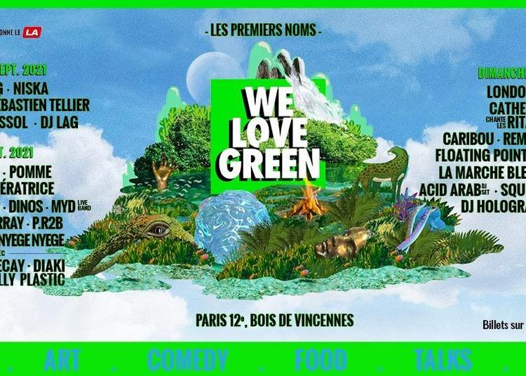 We Love Green Festival - Pass 3j à Paris 12ème