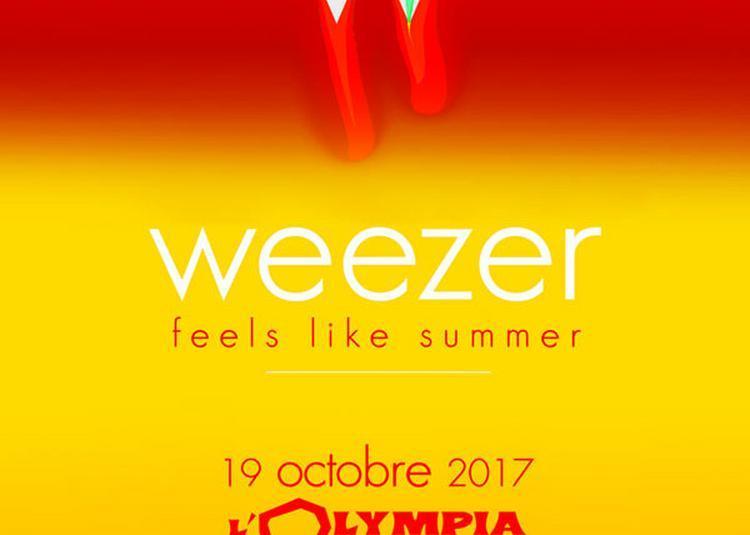Weezer à Paris 9ème