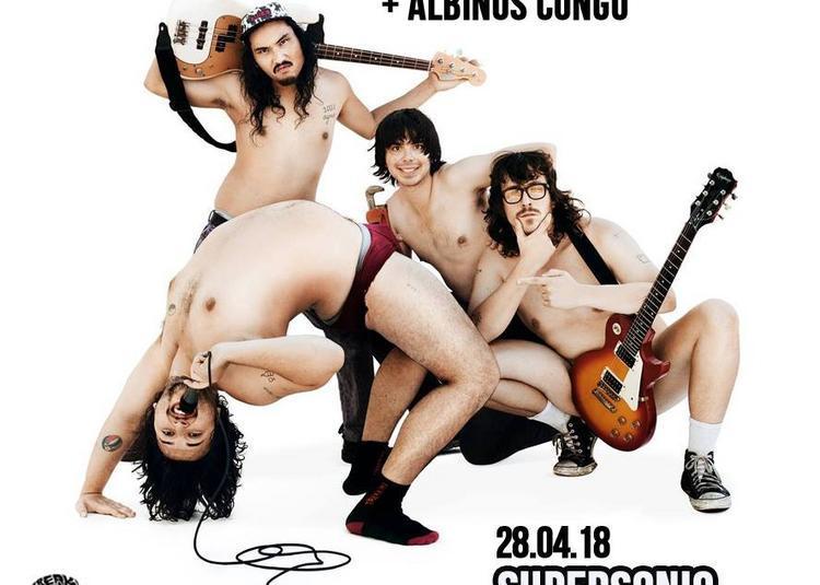 White Fang X Albinos Congo à Paris 12ème