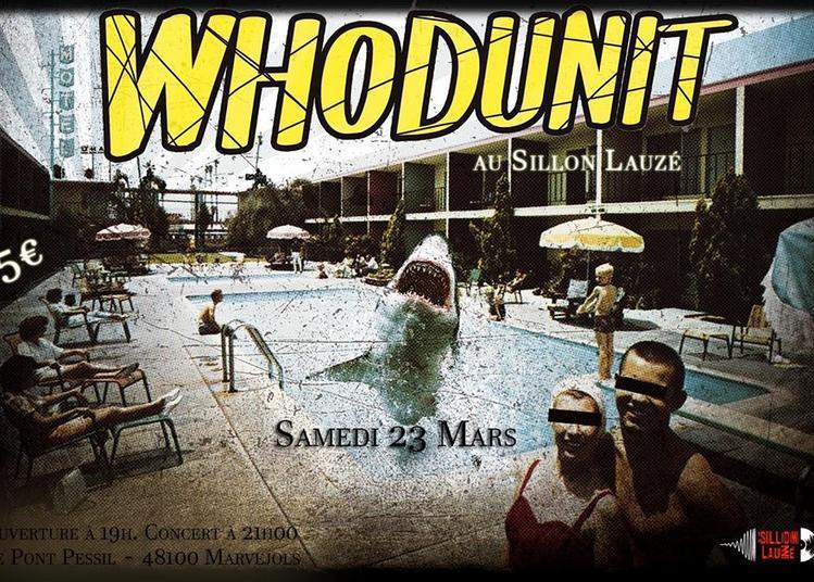 Whodunit (rock garage punk oenologie) à Marvejols