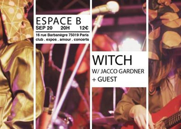 WITCH (w/ Jacco Gardner) + guest à Paris 19ème