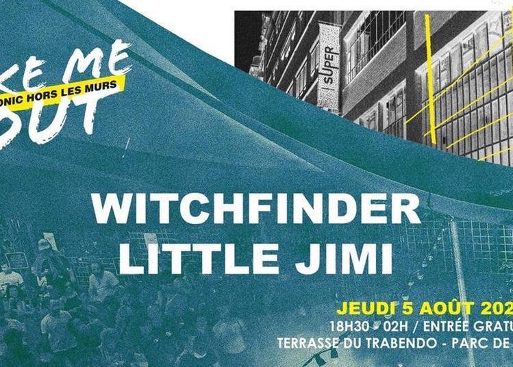 Witchfinder - Little Jimi / Take Me Out à Paris 19ème
