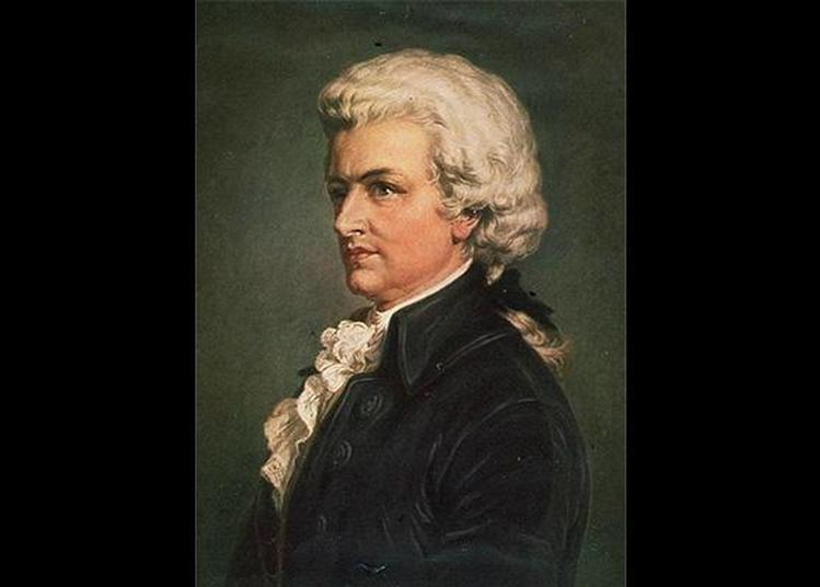 Wolfgang Amadeus Mozart à Enghien les Bains