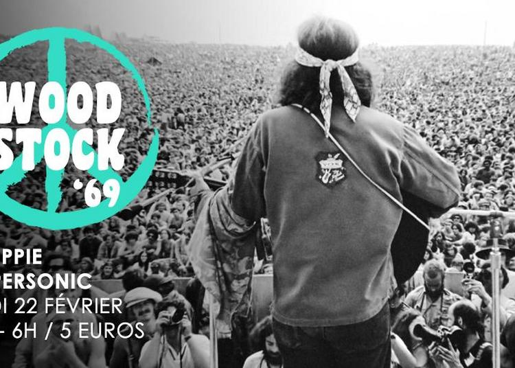 Woodstock '69 // Nuit Hippie à Paris 12ème
