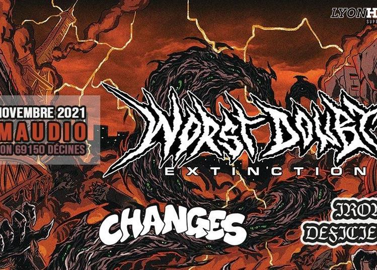 Worst Doubt / Changes / Iron Deficiency à Decines Charpieu