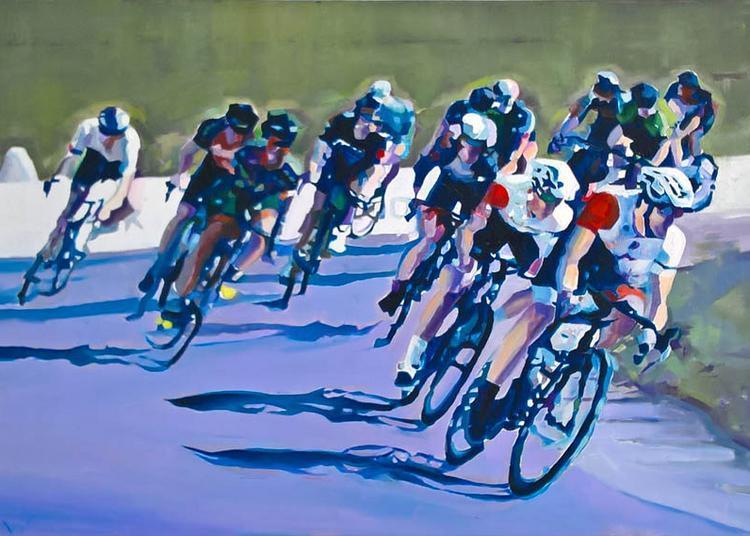 Wuillaume peint le sport à Fourqueux