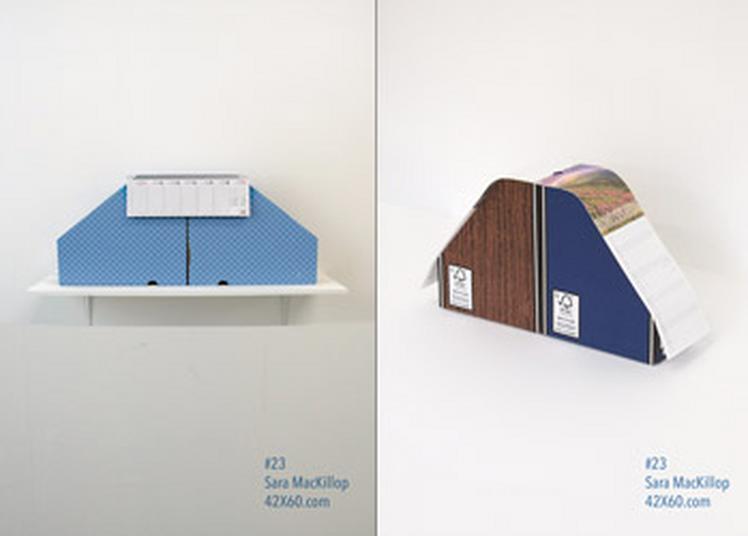42X60 affiche 2 oeuvres de Sara MacKillop dans Paris à Paris 4ème