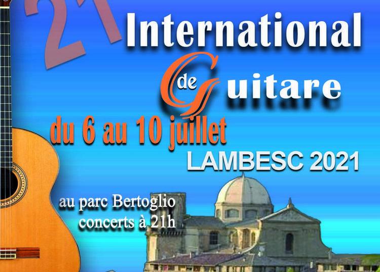 XXIème Festival International de Guitare  Lambesc 2021