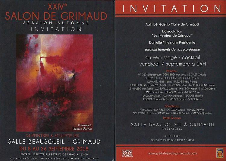 XXIVe salon de Grimaud