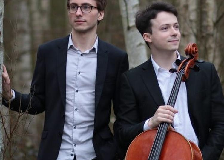 Yan Levionnois & Guillaume Bellom - violoncelle & piano à Croissy sur Seine