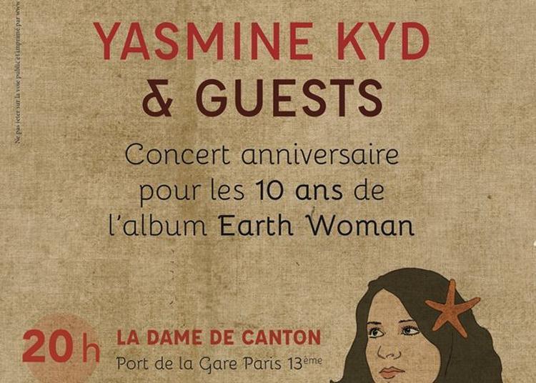 Yasmine Kyd + Guests à Paris 13ème
