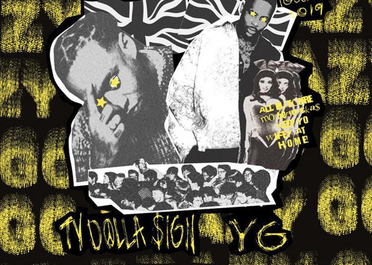 Yg & Ty Dolla Sign à Paris 11ème
