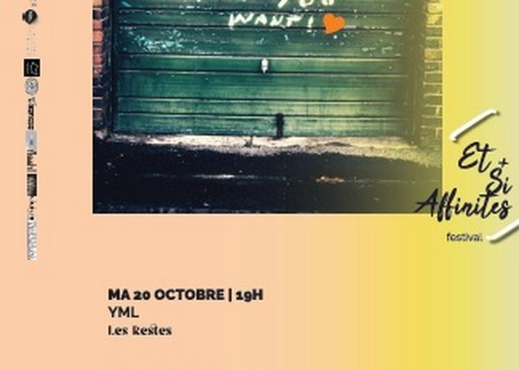 Yml (yôko Higashi, Marc Sens, Loran Chourrau) | Les Restes | Maquette à Toulouse