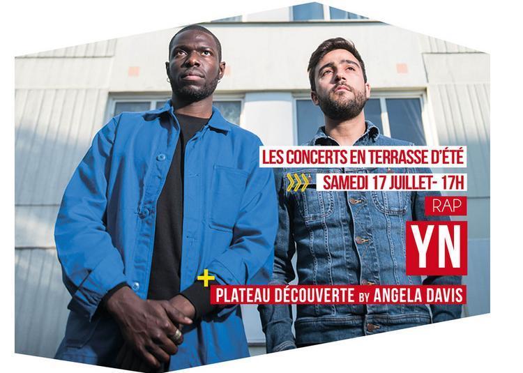 Yn Et Plateau Découverte By L'espace Angela Davis à Tremblay en France