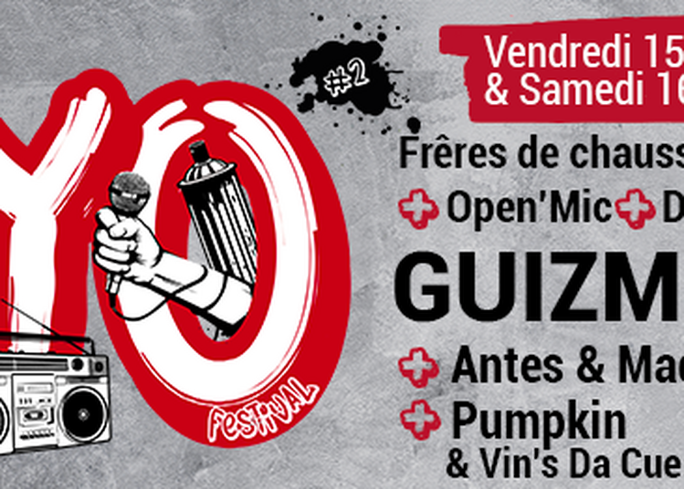 Yo! Festival #2 : Guizmo, Frêres de chaussures, Open'Mic à Rodez