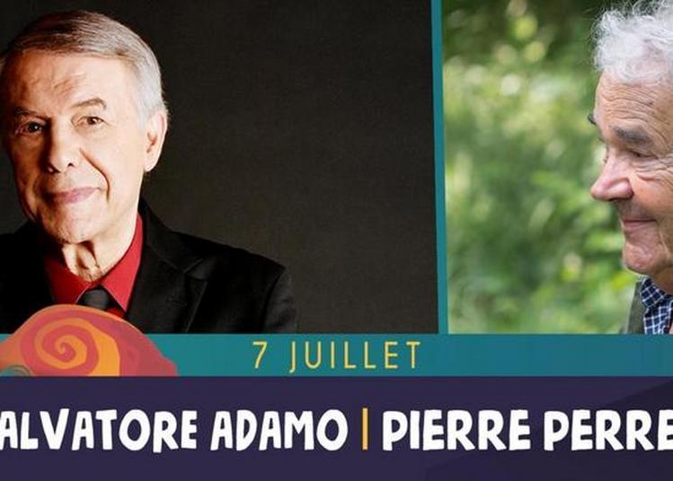 Salvatore Adamo, Pierre Perret à Saint Malo du Bois