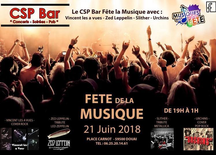 Zed Lepplin - Uchins (Fête de la Musique 2018) à Douai