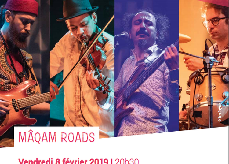 Zied Zouari Quartet, MÂQAM ROADS à Pierrefitte sur Seine
