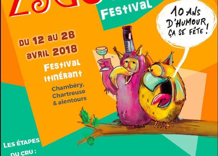 Zygomatic Festival 2018 : Patrik Cottet Moine ! à Les Echelles