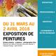 Exposition de peintures et d'artistes régionaux