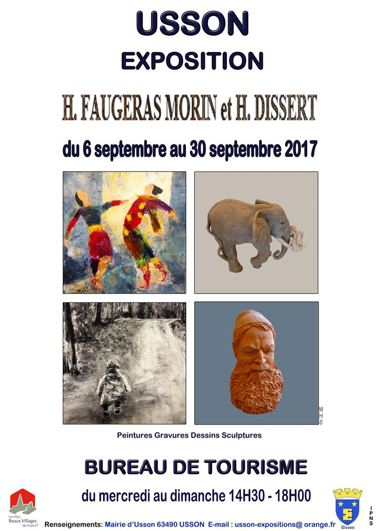 concert h faugeras morin et h dissert usson samedi 30 septembre 2017. Black Bedroom Furniture Sets. Home Design Ideas
