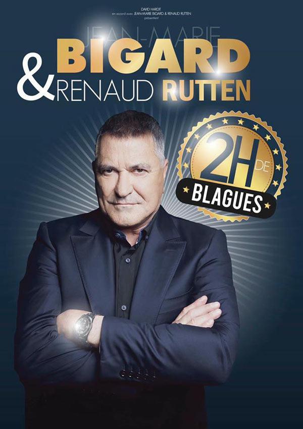 Spectacle Jean Marie Bigard Et Renaud Rutten A Arras Le 18 Decembre 2020