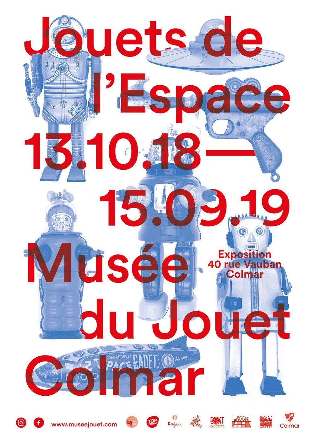 Du Jouets 15 De Colmar Au À 13 2018 Octobre L'espace Exposition XZPwkliTOu