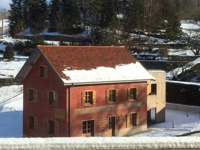 Exposition la maison du mod le coop raif de salins les for La maison du bain paris