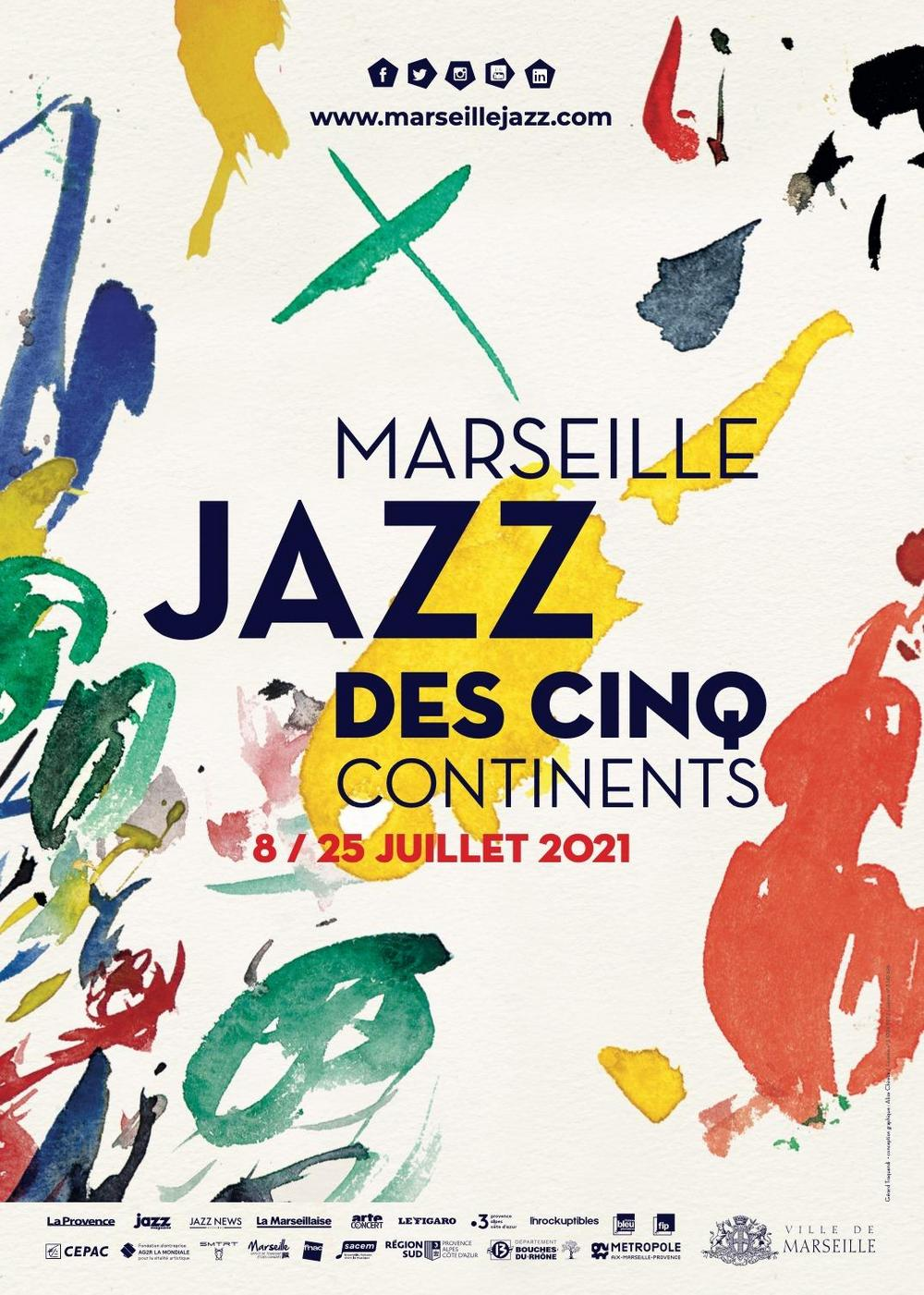 Marseille Jazz des cinq continents 2021