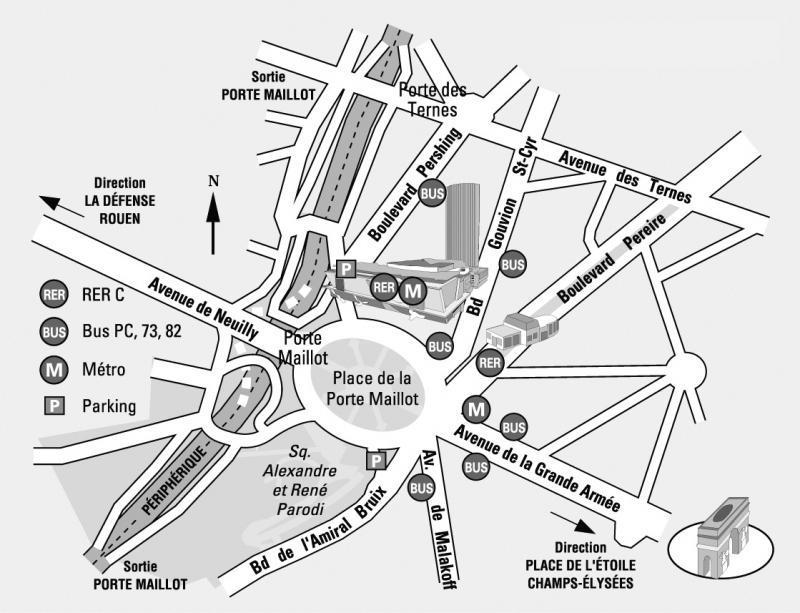 Palais des congr s paris programme adresse et plan d 39 acc s de la salle - Lac des cygnes porte maillot ...