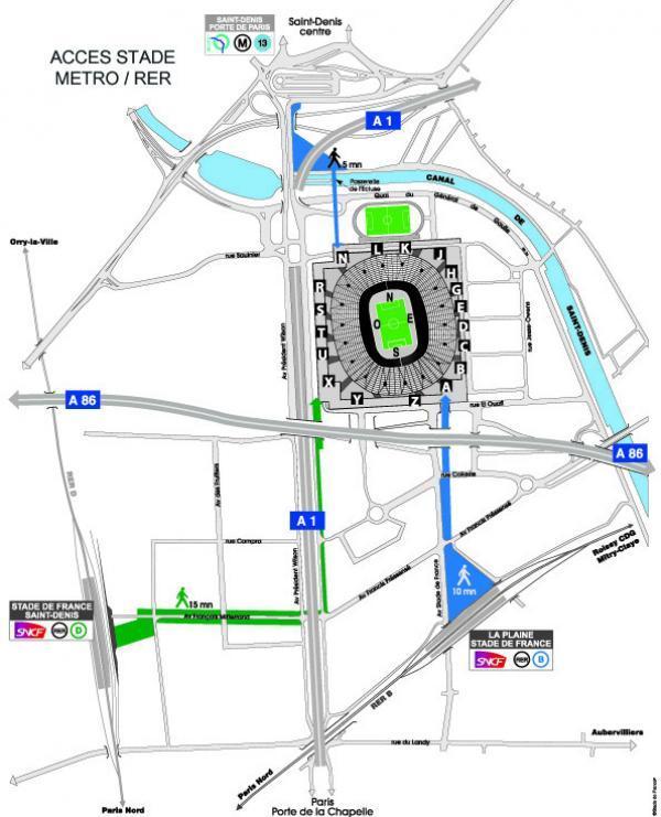 stade de france programme plan places et parking. Black Bedroom Furniture Sets. Home Design Ideas