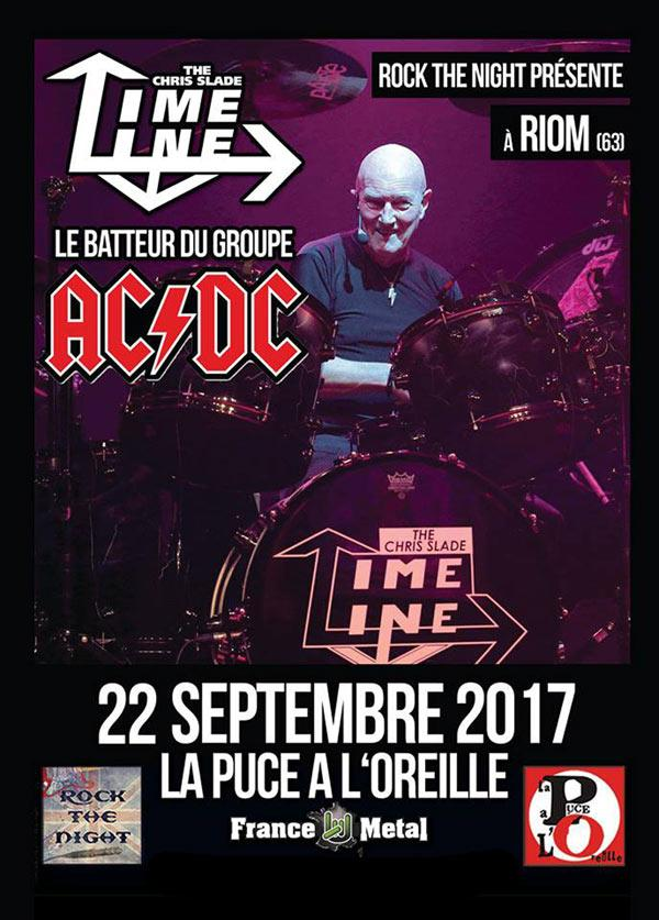 concert the chris slade timeline  u00e0 riom