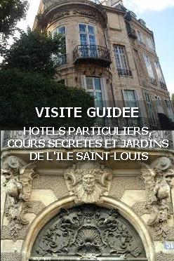 Exposition visite guidee hotels particuliers cours for Jardin de particuliers a visiter